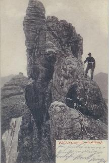 Ansichtskarte Otto Melzer